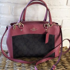 Coach-Mini Brooke Carryall
